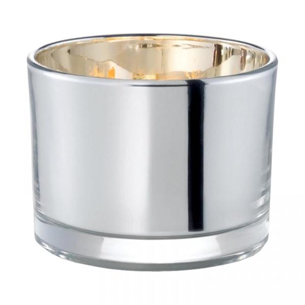 Świecznik na tealight Philippi Keys srebrny 261023