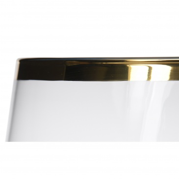 Świecznik Pure Gold 24x24x33 cm
