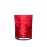 Świecznik szklany 10cm Sagaform Winter