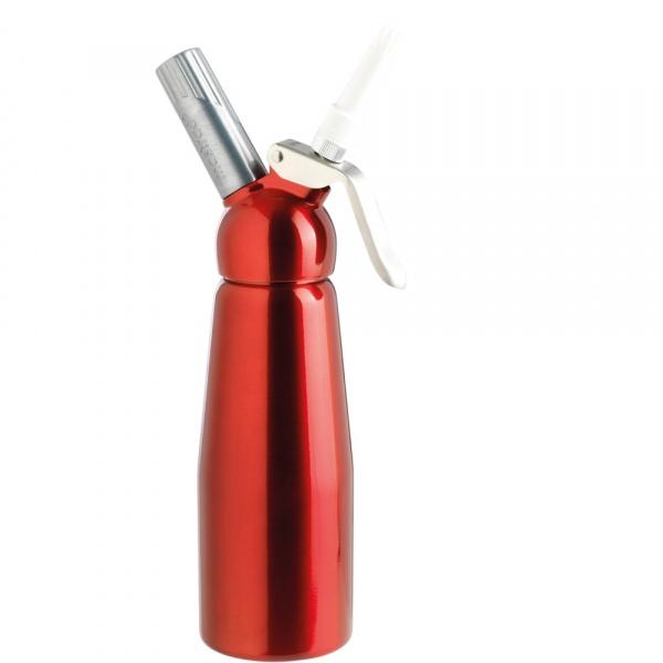 Syfon do spieniania zimnych i gorących musów 0,5 L Mastrad czerwony MA-F49315