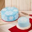 Szablony do dekoracji tortów ICE CRYSTAL 2 szt. Birkmann Cake Couture 450 257