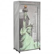 Szafa Nowy Jork, 75x45x160 cm, tkanina