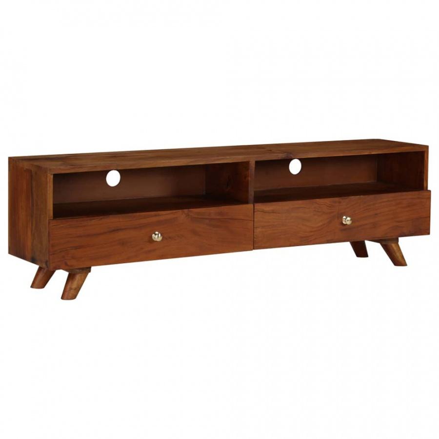 Szafka pod telewizor, lite drewno z odzysku, 140 x 30 x 40 cm kod: V-246675 + Z NAMI NIE RYZYKUJESZ