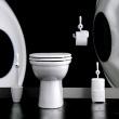 Szczotka do WC czarna Toq KZ-5010526