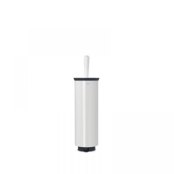Szczotka do WC w obudowie platynowa 42,5cm Brabantia biała BR 48-33-25