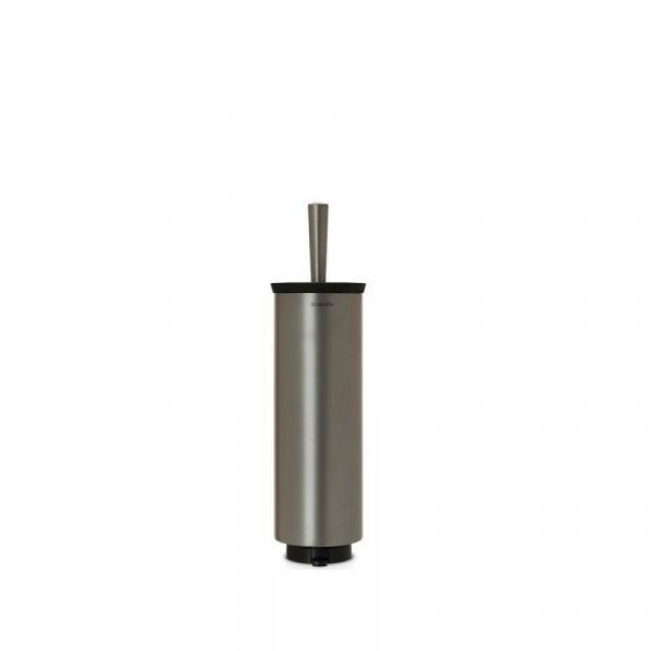 Szczotka do WC w obudowie platynowa 42,5cm Brabantia platynowa BR 48-33-01