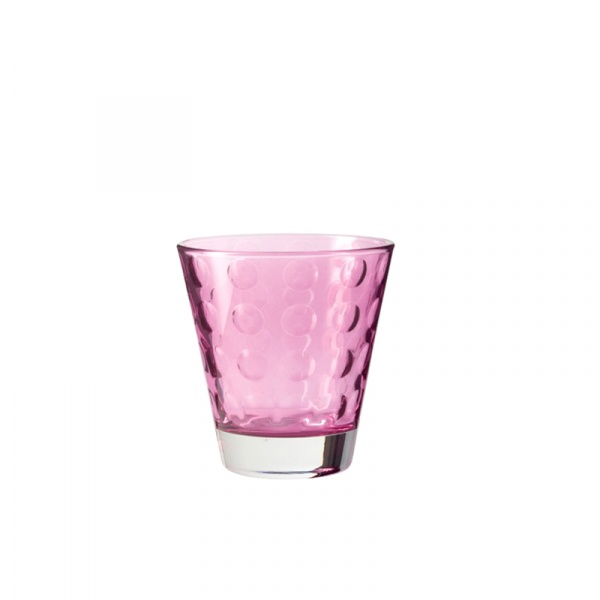 Szklaneczka 220 ml Leonardo Optic fioletowa 017990