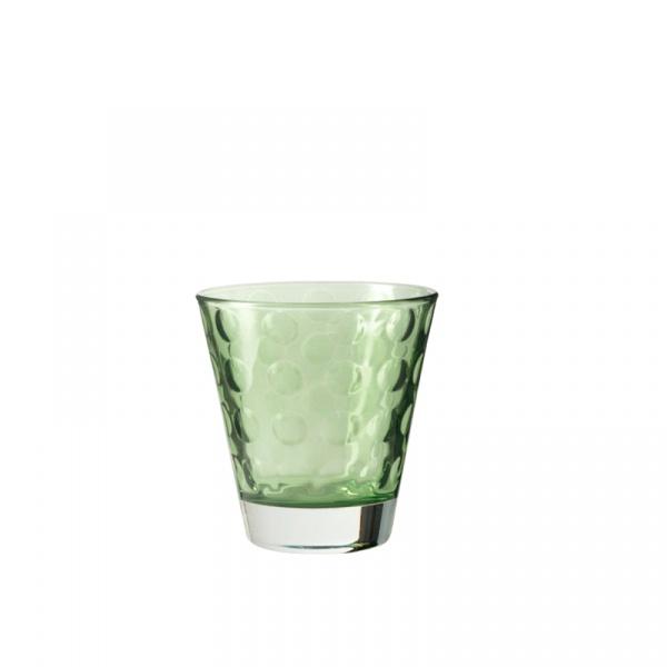 Szklaneczka 220 ml Leonardo Optic zielona 017994
