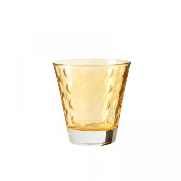 Szklaneczka 220 ml Leonardo Optic żółta 017991