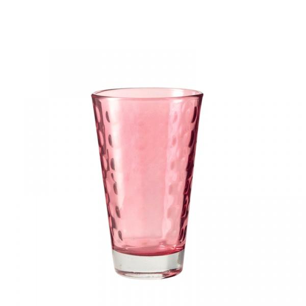 Szklaneczka 300 ml Leonardo Optic rubinowa 018003