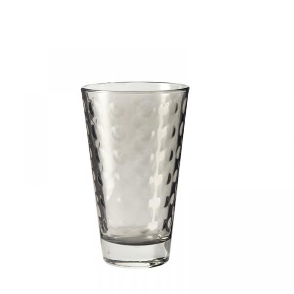 Szklaneczka 300 ml Leonardo Optic szara 018007