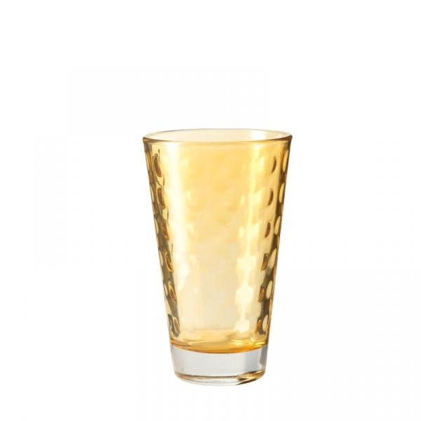Szklaneczka 300 ml Leonardo Optic żółta 018005