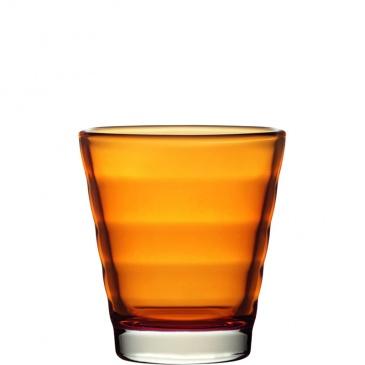 Szklanka 0,25 L pomarańczowa Wave