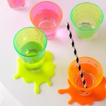 Szklanka 0,3 L pomarańczowa Optic