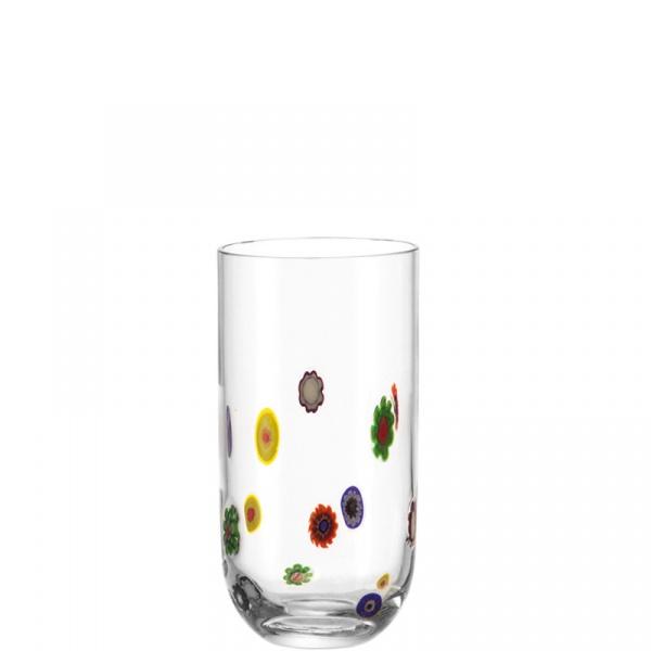 Szklanka 0,45 L wysoka Leonardo Millefiori 053839