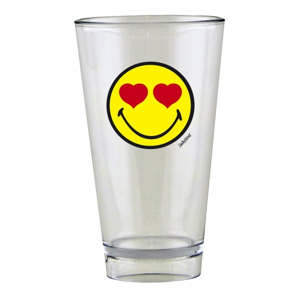 Szklanka 300 ml Zak! Design Smiley Love 6727-R952