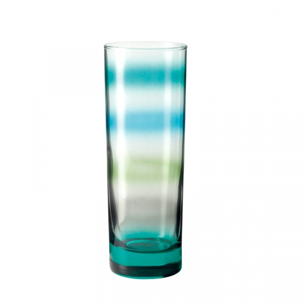 Szklanka 305 ml Leonardo Rainbow morska 018206