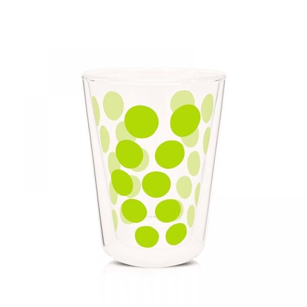Szklanka 350 ml Zak! Designs Dot zielona 0989-1221