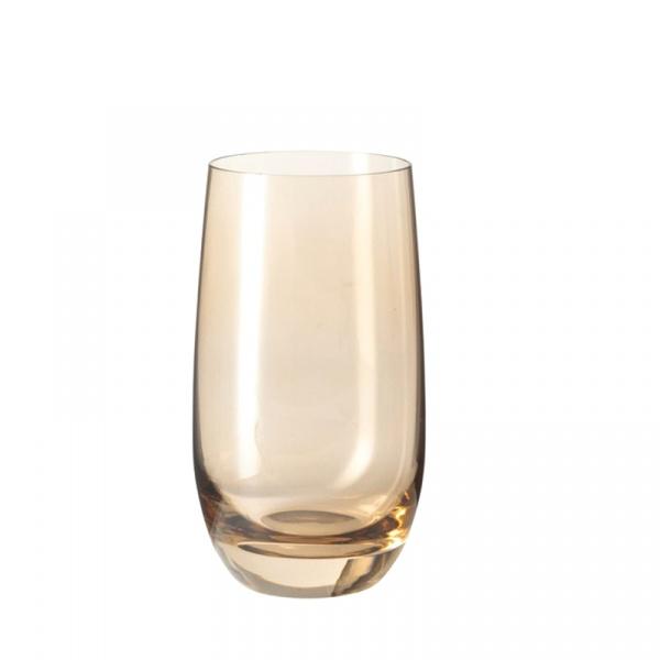 Szklanka 390 ml Leonardo Colori brązowa 018041