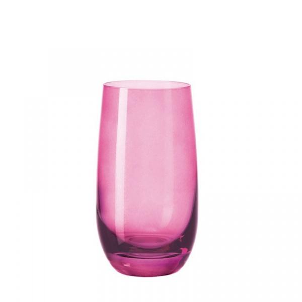 Szklanka 390 ml Leonardo Colori fioletowa 018039