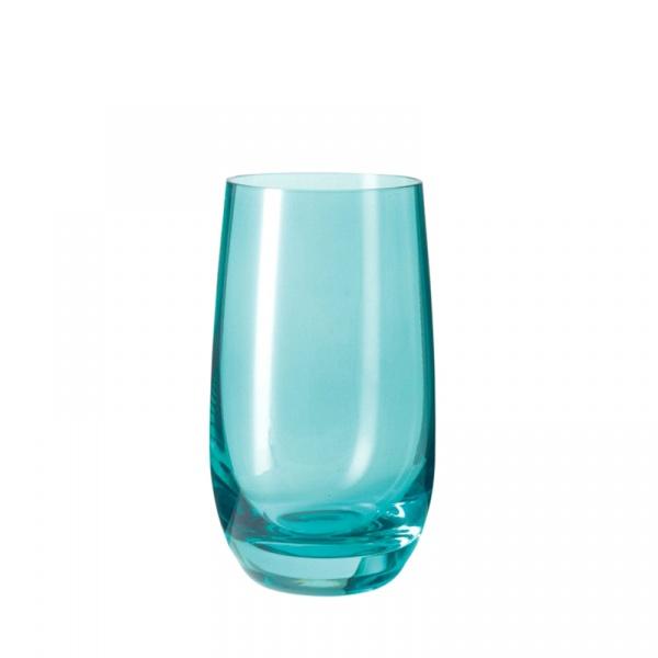 Szklanka 390 ml Leonardo Colori morski 018045
