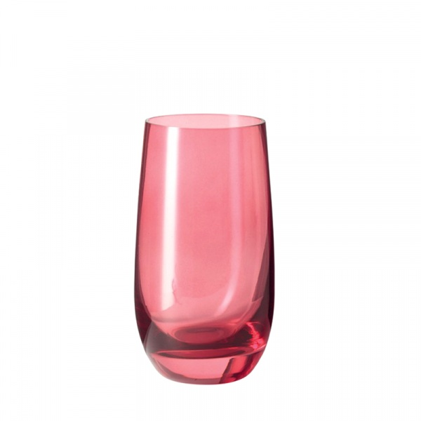 Szklanka 390 ml Leonardo Colori rubinowa 018038