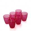 Szklanka Pink Glass Brandani 81252