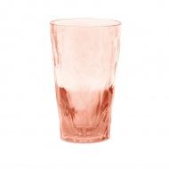 Szklanka wysoka 300 ml Koziol Club extra transparentna pomarańczowa