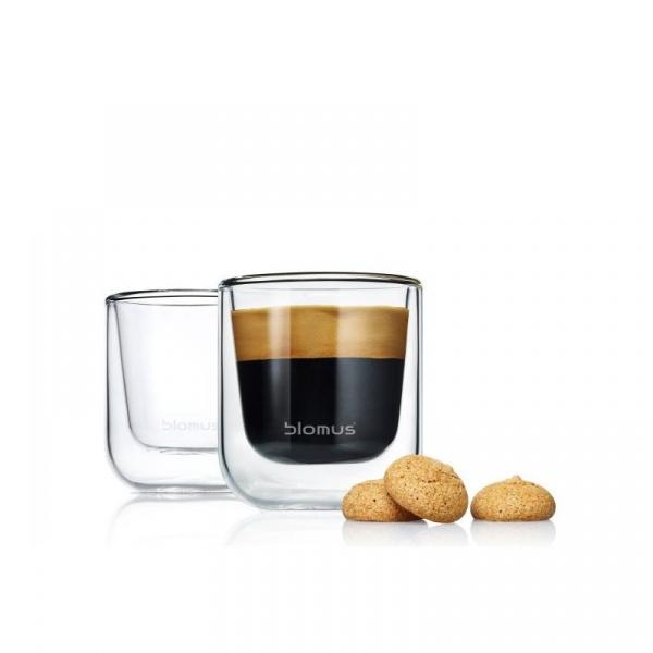 Szklanki do espresso 0,08L 2szt Blomus Nero B63652