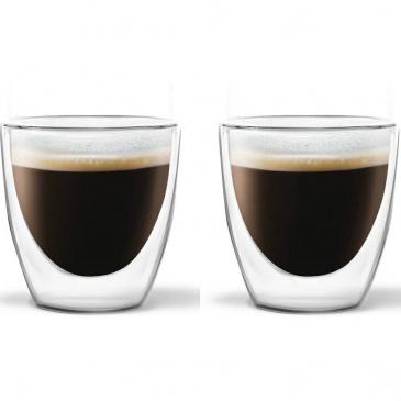 Szklanki małe na espresso termiczne amo 2szt