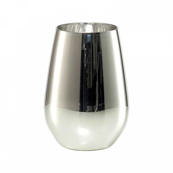Szklanki metalizowane 397ml (6 szt) Schott Zwiesel Vina Shine srebrne SH-8796-42S-6