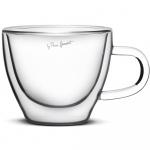 Szklanki termiczne do cappuccino 2szt. 190ml Lamart LT9026