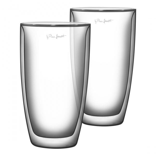 Szklanki termiczne do kawy 2szt. 230ml Lamart Vaso przezroczyste LT9010