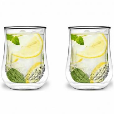 szklanki termiczne na lemoniadę 300ml 2 szt