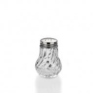 Szklano-stalowa solniczka 5x6,5 cm Kela przeźroczysta