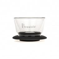 Szklany Dripper 8,9x13,3cm Brewista czarny