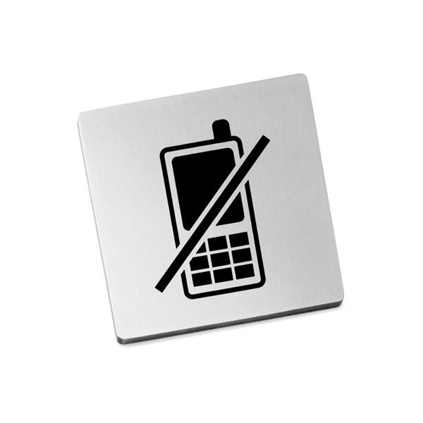 """Szyld Zack Indici """"zakaz używania telefonów"""" ZACK-50717"""
