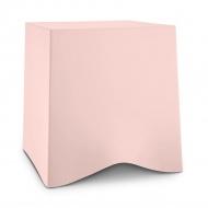 Taboret 42,8x40,6x41,6 cm Koziol BRIQ jasny róż KZ-5788659