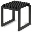 Taboret drewniany Skagerak Cutter Black S1920466