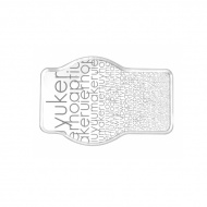 Taca 30 x 45 cm wzór Vialli Design Firenze biała