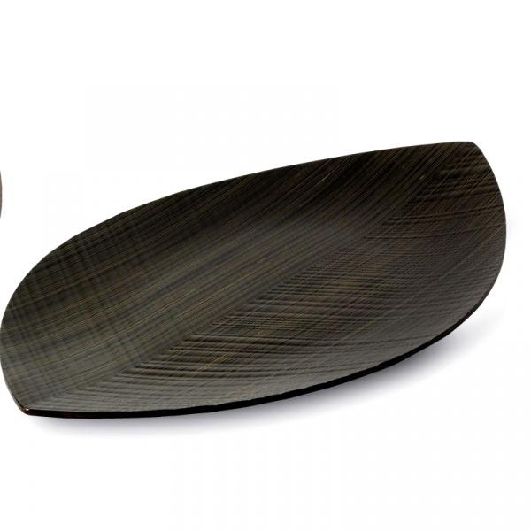 Taca Wenghe 44,5 x 25 cm Legnoart Leaf - bez opakowania LT-22(1)