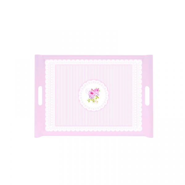 Taca z uchwytami Nuova R2S La Belle Maison różowa 200 RSE