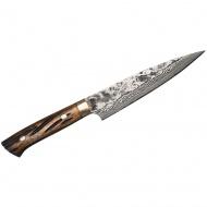 Takeshi Saji YBB Ręcznie kuty nóż uniwersalny 13cm VG-10