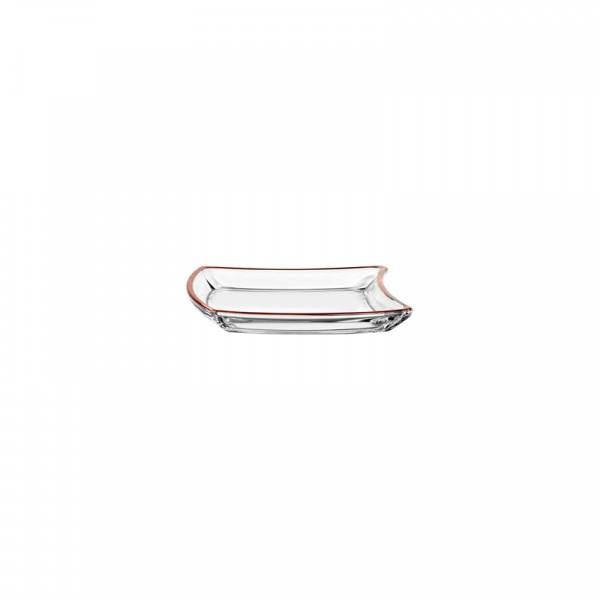 Talerz 20 cm Leonardo Twisty czerwony 052154