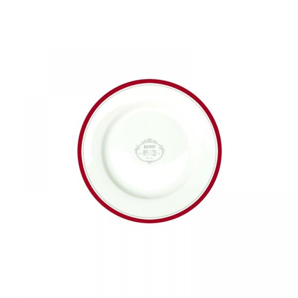 Talerz deserowy 19 cm Nuova R2S Bistrot Olives 944 BIST