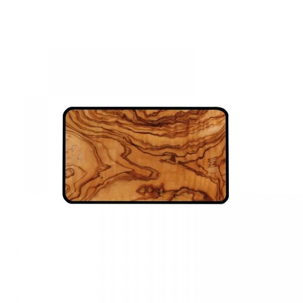 Talerz do serwowania S Zak! Design Osmos oliwkowo- czarny 1502-130