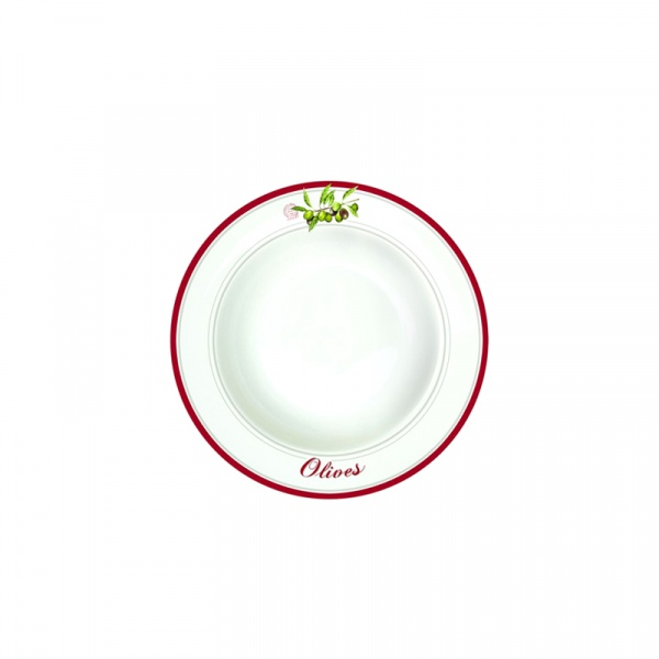 Talerz na zupę 21,5 cm Nuova R2S Bistrot Olives 943 OLIV