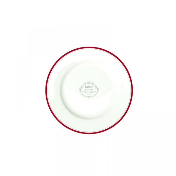 Talerz płytki Nuova R2S Bistrot Olives logo 942 BIST