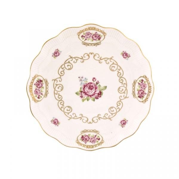 Talerzyk deserowy 19cm Nuova R2S Heritage różowy 1518 HERI