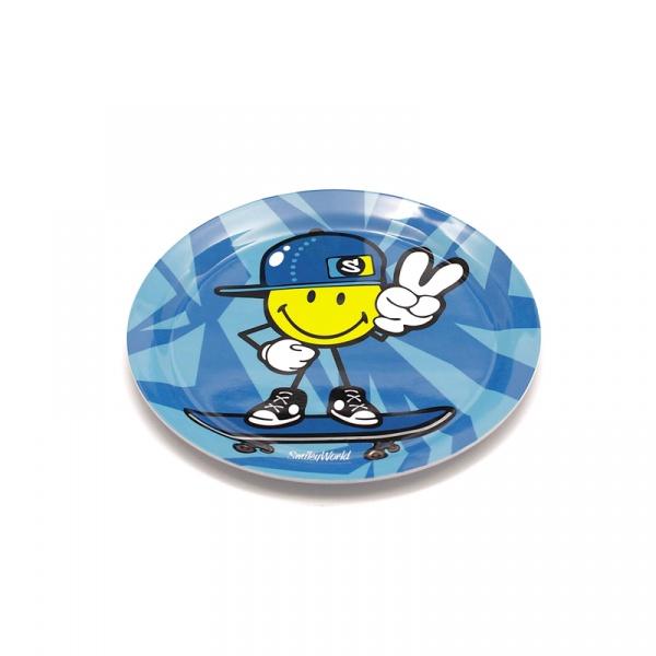 Talerzyk dla chłopczyka 20 cm Smiley Kid Zak! Designs 6705-3460